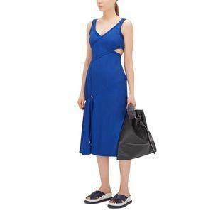Boss Hugo boss runway edition blue dress
